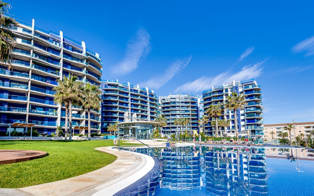 2 bed 2 bath exclusive seafront apartment with spectacular sea views in Residence Sea Senses, Punta Prima